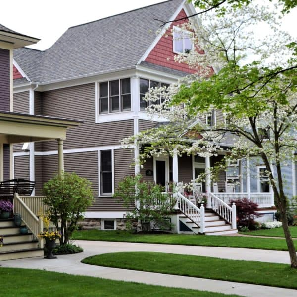 Home sweet home real estate exterior design mortgage!