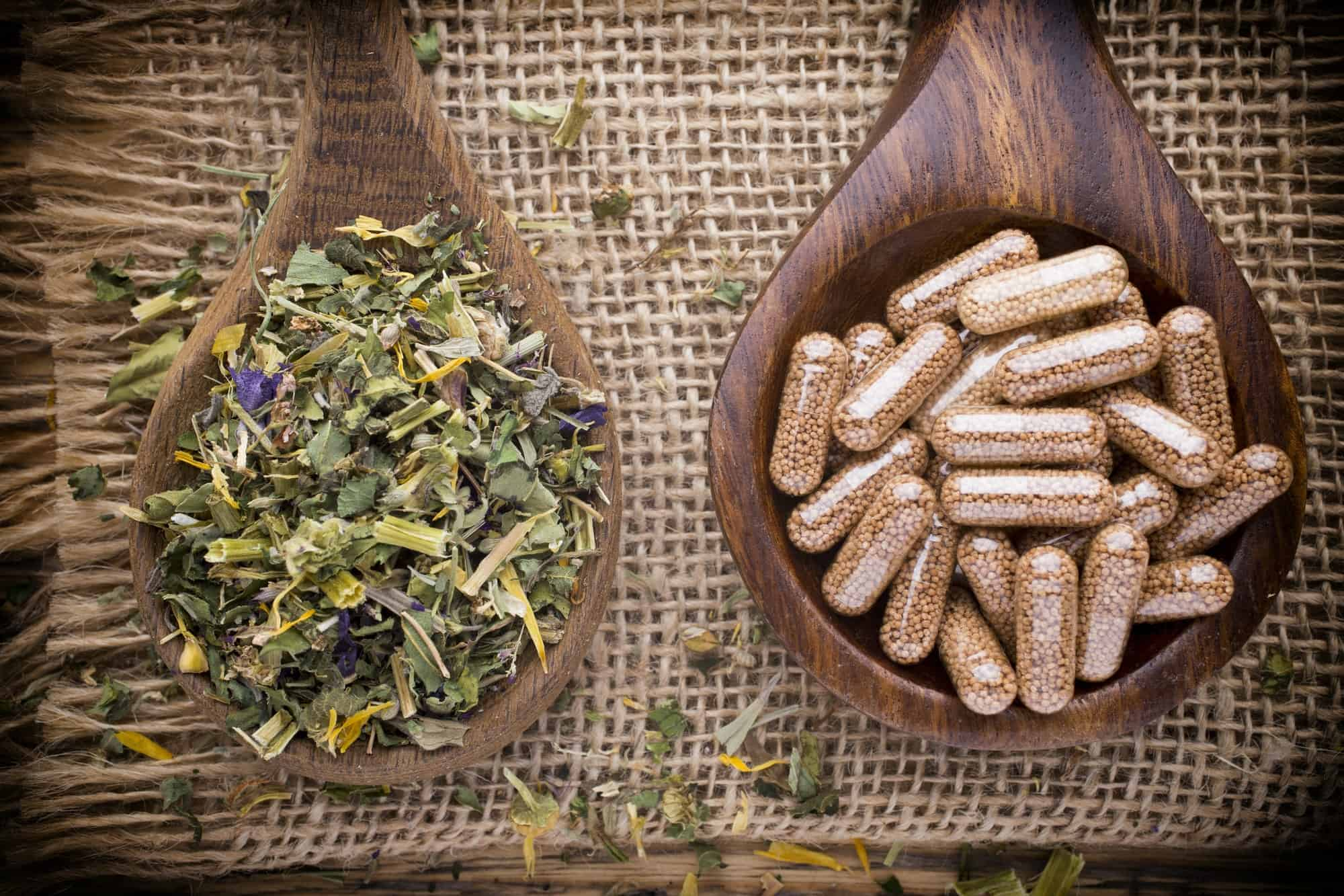Homeopathic supplement. Alternative Medicine.